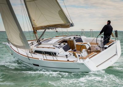 The new Dufour 350Ph: Guido Cantini / Dufour/Sea&See.com