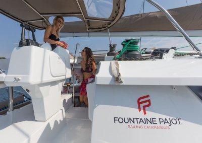 12/09/2016, Cannes (FRA,06), Chantier Fountaine-Pajot, Helia 44