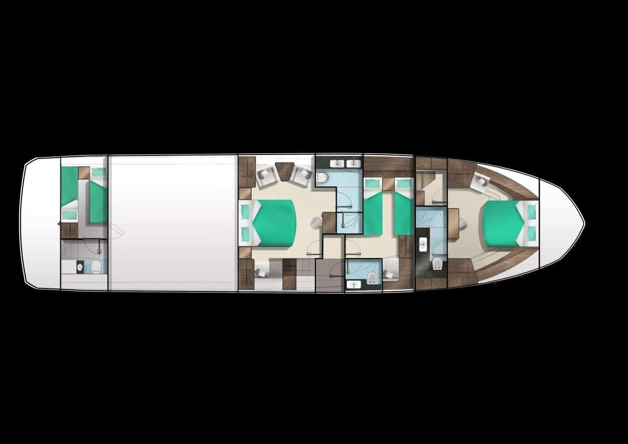 640 lower deck supermaster layout
