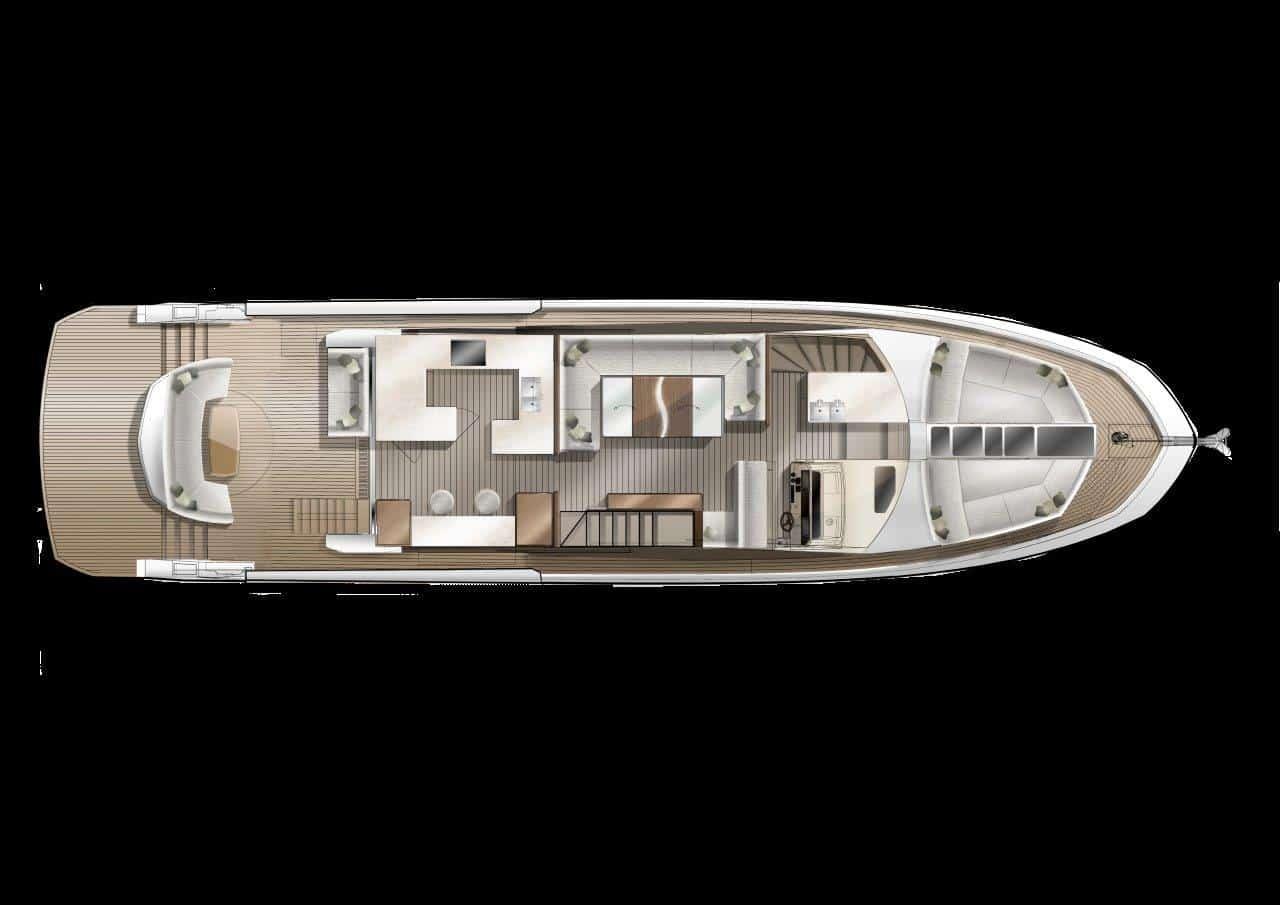 640 main deck roto seat