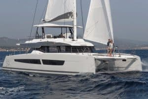 Experience unforgettable moments at sea on board the Fountaine Pajot Samana 59 catamaran. Here sailing experiences and luxury life come together.