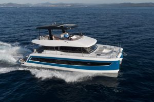 The Fountaine Pajot MY6 offers unique technical features, impressive aesthetics - with so much luxurious living space behind the dynamic, sporty lines.
