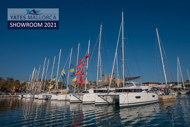 Details of first Private Boat Show of the year powered by Yates Mallorca and Fountaine Pajot and take a look at our virtual showroom!